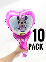Minnie Mouse Party Balloons Favors Birthday Air Balloons FREE SHIPPING!