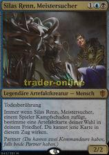 Silas Renn, Meistersucher  (Silas Renn, Seeker Adept) Commander 2016 Magic