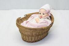 Madame Alexander 1966 Baby Huggums w/ Basket & Blanket