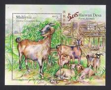 2015 MALAYSIA FARM ANIMALS (M/S) MNH