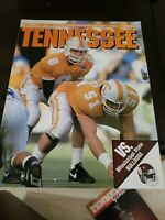 1991 Tennessee VOLS vs Mississippi state bulldogs official program