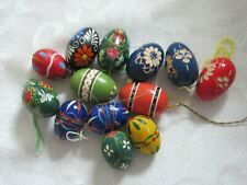 Vintage Pasanke Easter Eggs Some Hand Carved and Hand Painted
