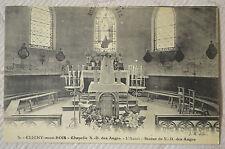 """CPA """" CLICHY SOUS BOIS - Chapelle N.D. des Anges - L'Autel"""