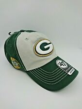 NFL Green Bay Packers 47 Brand Clean Up Hat Cap Cotton Adjustable EmbroideryLogo