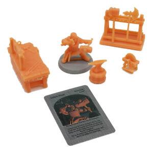 Outland Tactics War Games Miniatures Blacksmith Dwarf Figure & Accessories 28mm
