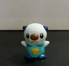"Oshawott 1 1/2"" Vinyl Finger Puppet Figure Bandai 2010 Pokemon Best Wishes!"