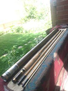 Heddon #880 Superlative Fiberglass Fly Rod - 9', 3/1pc, Bass, Sock, Tube, Mint