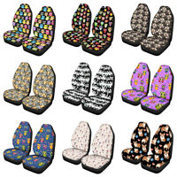 Car Seat Covers Cushion Owl Front Seats 2pcs Auto Protector Flexible Universal