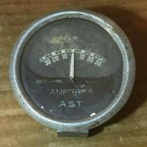 Vintage ATS Amperes Amps Gauge MG Car Riley Austin Bentley Vauxhall Motorcycle