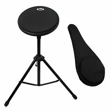 Paititi 8 inch Practice Drum Pad with Adjustable Stand & Carrying Bag and Sticks