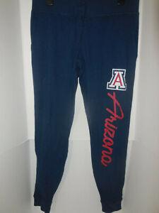 New Womens Arizona Wildcats Blue Lounge Logo Pants NCAA Size Medium Jogger