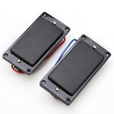 New Set Humbuckers Noiseless - Cover + Mr Black Guitar Hh