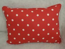 "à pois par Laura Ashley COUSSIN RECTANGULAIRE 50.8cm x 14 ""( 51 cm x 36 cm)"