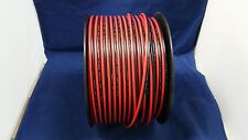 12 GAUGE PER 10 FT RED BLACK ZIP WIRE AWG CABLE POWER GROUND STRANDED COPPER CAR