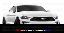 Ford Mustang Decal Sticker Graphic 3 COLOR Windshield Car Truck SUV