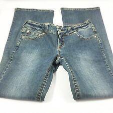 Duck Head Jeans Womens Size 7 Long Medium Wash Flap Pockets    G