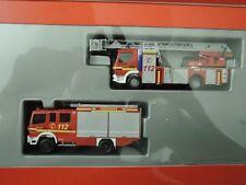 Herpa aus Sammlung Set Feuerwehr Bielefeld DLK 23/12 und LF 16/12   in OVP (**)