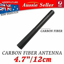 12cm Short Antenna CarRoof Radio Aerial Carbon Fiber For Peugeot 207 307 308 407
