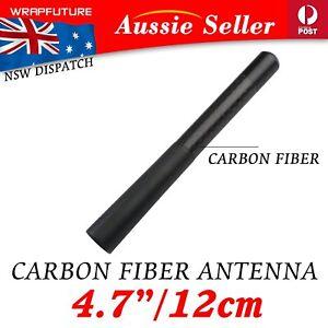 12cm Short Antenna CarRoof Radio Aerial Carbon Fiber For Peugeot 207 307 308 407