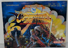 The Magic Of Scheherazade Instruction Booklet - Great Condition