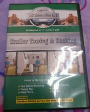 RV Education 101 - Trailer Towing and Backing (DVD, 2009) #2410