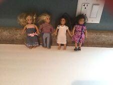4 American Girl Mini Dolls Julie, +