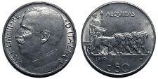 50 centesimi 1919 liscio quasi SPL - R