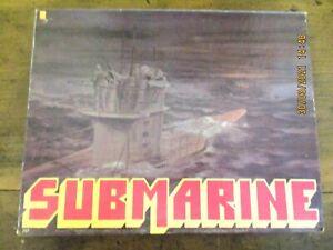 ~VINTAGE Avalon Hill SUBMARINE - World War 2 Strategy Board Game - VGC~