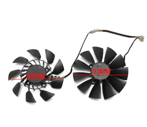 For ASUS R9 290 290X 290-DC2-4GD5 290X-DC2-4GD5 HQ Video Card Cooler Fan Replace