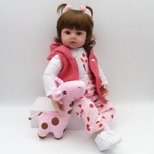 "Lifelike Reborn Baby Doll 22 "" Doll Vinyl Kids Girl playmate Bambole rinascere"