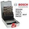 BOSCH 19PCE HSS-CO COBALT METAL DRILL BIT SET - FOR STAINLESS STEEL DRILLING