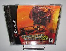 Demolition Racer No Exit Sega Dreamcast Brand New Sealed!