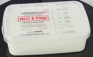 Goat's Milk 1kg Melt and Pour Soap Base - Soap Making and Craft