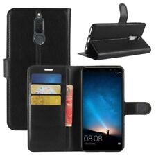 Cartera De Bolsillo Negro Premium para Huawei Mate 10 Lite Estuche Cubierta