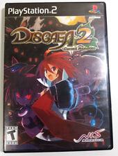 Disgaea 2: Cursed Memories (PS2) - CIB Complete Game Case Manual NIS America