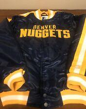 Denver Nuggets Starter Jacket Size Small