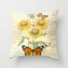 Flower Throw Pillow Cover Floral Pillow Case Sofa Couch Cushion Cover Home Decor