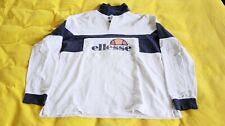 Ellesse vintage long sleeved polo shirt
