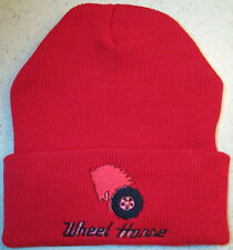 Wheel Horse Embroidered Beanie (4 colors)