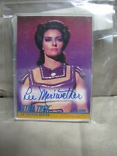 Star Trek Lee Meriwether ( Losira ) autograph series card #A76  Limited Edition!
