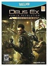 Deus Ex: Human Revolution - Director's Cut GAME (Nintendo Wii U, 2013)