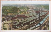 1920 Postcard: Westinghouse Electric & Machine Co. - Pittsburgh, Pennsylvania PA