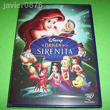 EL ORIGEN DE LA SIRENITA DISNEY DVD NUEVO Y PRECINTADO