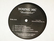 "YOUNG MC feel the love / heatseeker 12"" RECORD YOUNG M.C. HIP HOP RARE"