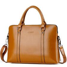 "Laptop Handle Bag PC Shoulder Pouch 14""15.6"" Faux Leather Sling Case For HP Mac"