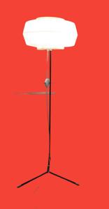 RARE SIGNED MID CENTURY VINTAGE FLOOR LAMP RUDOLF ARNOLD GERMANY ERA ROTAFLEX