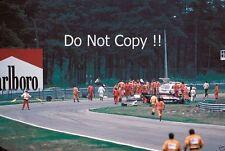 Gilles Villeneuve Ferrari Accident Belgian Grand Prix 1982 Photograph 4
