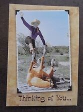 Roy Rogers Trigger Trick Friendship Greeting Card w Envelope -  new old stock