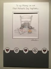 "Me To You Tatty Teddy ""Mummy On First Mother's Day"" Card With Envelope 99p"