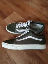 Vans ,men, Suede Leather Shoes/trainers Size Uk 9